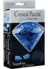 3D CRYSTAL PUZZLE - ΖΑΦΕΙΡΙ 43 ΤΕΜ.