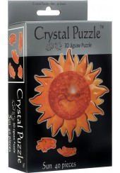 3D CRYSTAL PUZZLE - ΗΛΙΟΣ 40 ΤΕΜ.