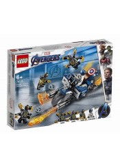 CAPTAIN AMERICA OUTRIDERS ATTACK - LEGO AVENGERS 76123