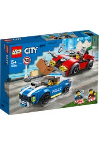 POLICE HIGHWAY ARREST LEGO CITY 60242  5702016617566
