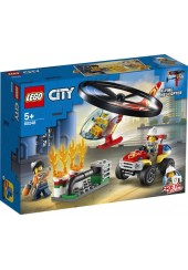 FIRE HELICOPTER RESPONSE LEGO CITY 60248