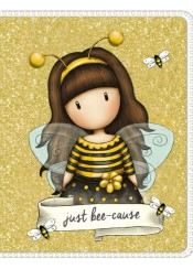 ΣΗΜΕΙΩΜΑΤΑΡΙΟ MINI GLITTER GORJUSS - JUST BEE-CAUSE