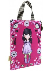 ΝΕΣΕΣΕΡ-ΘΗΚΗ ΓΙΑ ΜΟΛΥΒΙΑ SANTORO GORJUSS - FIESTA PENCILCASE-BOOK BAG A5 YOU BROUGHT ME LOVE 926GJ02