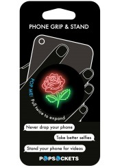 PHONE GRIP NEON ROSE